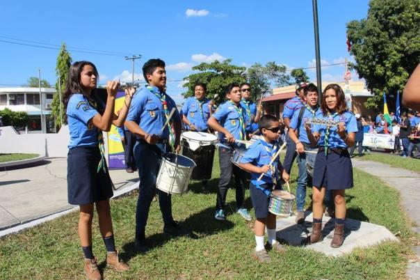 Samba Festa en el Natalicio del Fundador 2015